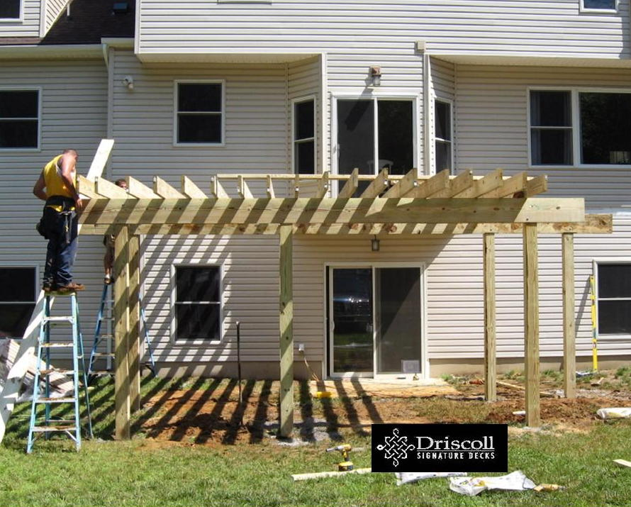 As With All Driscoll Decks, Whether We Are Building With Decking Boards Or  As In This Case, A Fiberglass Deck, We Always Start With Our U0027Signatureu0027  Robust ...